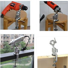 Clamp Grinder Holder Bench Vise Electric Drill Stand   Rotary Rotarys #QW