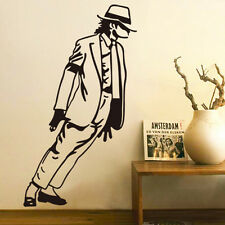 Michael Jackson Dancing Vinyl Art Wall Stickers Decal Black Diy