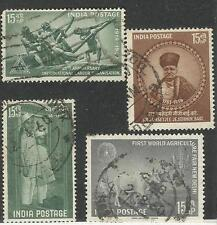 1959: FINE USED YEAR PACK OF 4 COMMEMORATIVE STAMPS. FINE AND RARE.