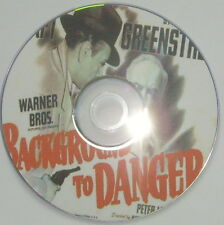 FILM NOIR R2: BACKGROUND TO DANGER Raoul Walsh, Raft, Greenstreet, Lorre