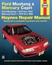 NEW - Ford Mustang / Mercury Capri '79'93 (Haynes Repair Manuals)
