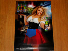 New St. Pauli Girl Collectible Poster Bobbi Sue Luther A Must Have!!!