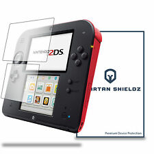 6X - Spartan Shields Premium Clear Screen Protector For Nintendo 2DS 6X