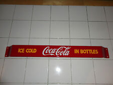 Door push bar Coca Cola Retro Antique Soda Advertising