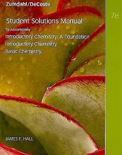 Student Solutions Manual For Zumdahl/Decoste's Introductory Chemistry A