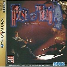 USED The House of the Dead japan import SEGA Saturn