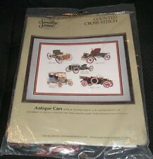 Something Special Candamar ANTIQUE CARS Counted Cross Stitch Kit 50374 FORD NEW