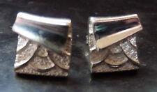 Ola Gorie Orkney Jewellery Silver Pagoda Stud Earrings Boxed