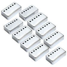 10*Chrome Pickup Humbucker Covers For Gibson Epiphone replacement 50mm Pole