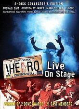 Hero, The Rock Opera Live On Stage (DVD, 2005, 2-Disc Set)