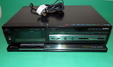 AIWA Stereo Cassette Deck Hifi Unit Black F260 1980s Working Old School