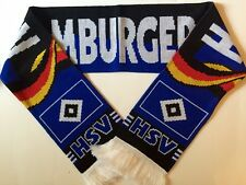 HAMBURGER SV Football Scarf made with soft luxury acrylic yarns NEW