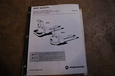 BT Prime Mover RMX HMX ELECTRIC PALLET TRUCK JACK Parts Manual catalog book 1995
