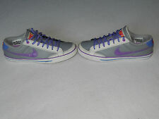 NIKE CAPRI II WOMENS GREY PURPLE TRAINERS SHOES UK 6 EURO 40