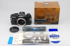 2638#GC Olympus OM-4TI Black Film Camera Mint