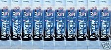 10 x Nescafe Original 2 in 1 Individual 1 Cup Instant Coffee Sachets Sticks
