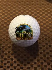 LOGO GOLF BALL-THE OUTDOOR CHANNEL...MOOSE LOGO.....TELEVISION..