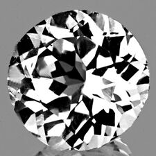 7.00MM ROUND SPARKLING AAA WHITE TOPAZ NATURAL LOOSE GEMSTONE {IF-VVS1}