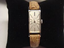 VINTAGE NEW OLD STOCK LADY FINE SEIKO DIASHOCK 17 JEWELS BACK STAINLESS STEEL