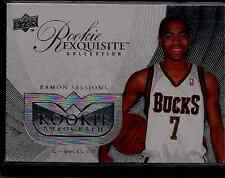 Ramon Sessions 2007-08 UD Exquisite Blank Back Non Auto Proof RARE 1/1? Wizards!