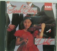 Sarah Chang Debut CD EMI Classics CDC554352 1992