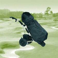 Golf Bag and Trolley Black Waterproof PAC MAC Rain Cover Cape