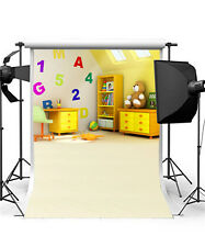 lovly baby background photo Studio bear vinyl photography backdrops children
