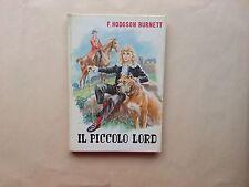 Frances Hodgson Burnett - Il Piccolo Lord - Aristea - Libri Ragazzi - Metà 900