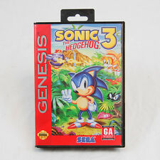 Sega Genesis - Sonic the Hedgehog 3  - Free Shipping