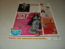 I233 NICOLE RICHIE MYLEENE KLAAS MICHAEL JACKSON  '2007 ENGLISH CLIPPING