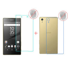 Front+Back Anti-Glare Matte Full Screen Protector Film Fr Sony Xperia Z5 Premium