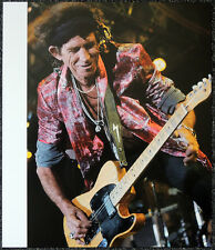 THE ROLLING STONES POSTER PAGE KEITH RICHARDS . Y103