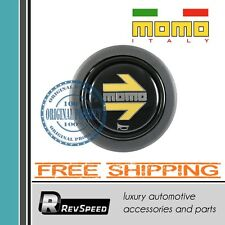 Genuine MOMO Steering Wheel Horn Button With Yellow Arrow 11110335111