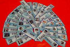 Reception words - DISNEY FROZEN - flash cards read write spell recognise -school