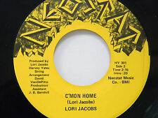 Lori Jacobs 45 C'mon Home / Tugboat Annie ~ M- to VG++  pop.rock