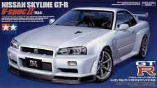 Tamiya 24258 1/24 Nissan SKYLINE GT-R V SPEC II R34 from Japan Rare