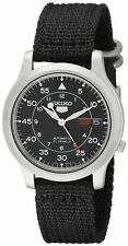 SEIKO Men SNK809 SEIKO 5 Automatic Black Face Seiko USA Original Tag without Box