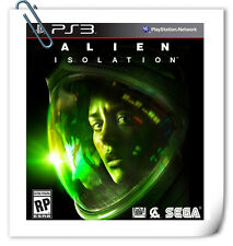 PS3 Alien: Isolation SONY PlayStation Action Games SEGA