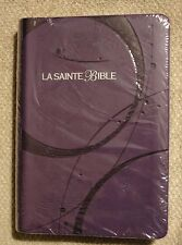 French Bible, Louis Segond 1910,  Purple,  Imitation Leather,La Sainte Bible f/s