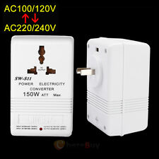 150W Universal Travel Adapter Voltage Converter 110V To 220V Power Transformer