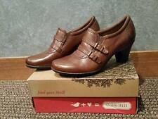 NIB Cobb Hill CAI35BR Selah Brown Heeled Dress Shoe Size 9