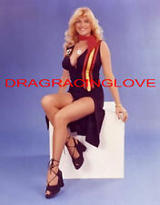 """Linda Vaughn """"Miss Hurst Golden Shifter"""" HOT Leggs BUSTY Cleavage Outfit PHOTO!"""