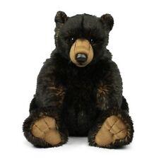 Orso Grizzly nero 32 cm peluche morbido Collezione WWF 14791