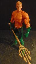 """Dc Comics Unlimited Aquaman 6"""" Action Figure Mattel LOOSE"""