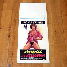 L'USIGNOLO E L'ALLODOLA locandina poster affiche Sylvia Kristel Erotico Erotic