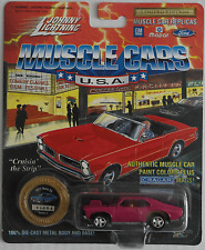 Johnny Lightning - ´72 / 1972 Chevy Nova SS himbeer Neu/OVP
