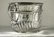 A SUBLIME WILLIAM III BRITANNIA STANDARD SILVER PORRINGER, WILLIAM ANDREWS