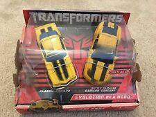 Transformers 2 pack Bumblebee Evolution of a Hero Camaros - Target Exclusive
