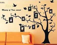 HOT Art Mural Removable Vinyl Decal Home Decor Wall Stickers Photo Frame Tree
