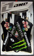 One Industries Graphic Decal Kit Monster Energy Kawasaki KXF450 09-11